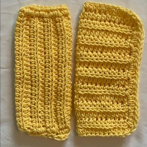 Other - Lot of Two Yellow All Purpose 100% Cotton Cloths